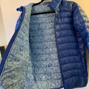 Keith Haring x Uniqlo Puffer Jacket Blue